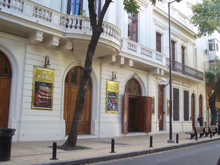 Teatro Coliseo Podesta fachada
