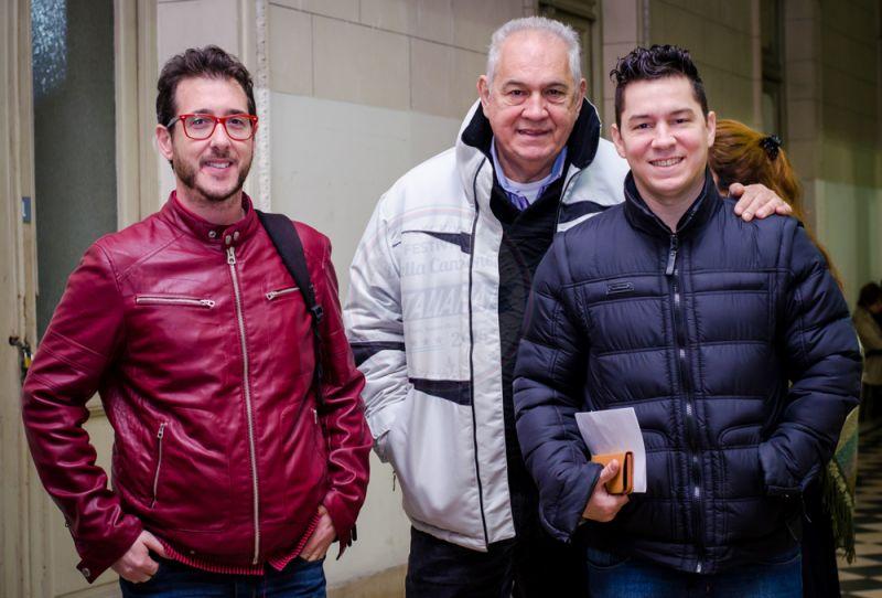 Emiliano Trillo Kurtz, Aníbal Patiño, Oscar Patiño