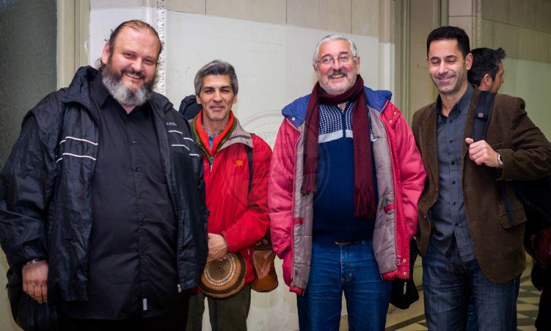 Mariano Segalla, Santos Vera, Jorge Luis Ubertalli Ombrelli, Eduardo Fidelibus
