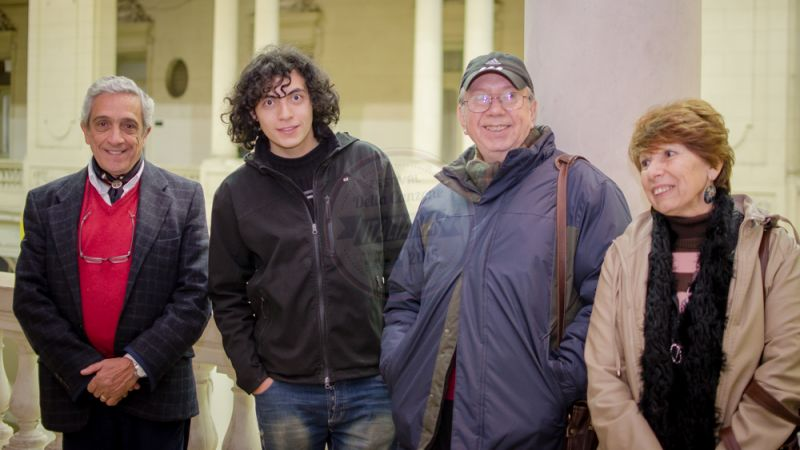 Raúl Mirande, Marcos Sánchez, Luis Roldán, Irma Roldán