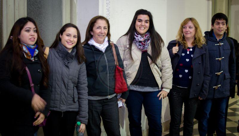 Victoria Silvina Paredes, María Victoria Korenblit, Astrid Frias, Agostina Muntes, Rossana D'alessandro, Santiago Mirande