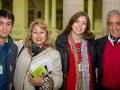 Santiago Mirande, Virginia López, Constanza García, Raúl Mirande
