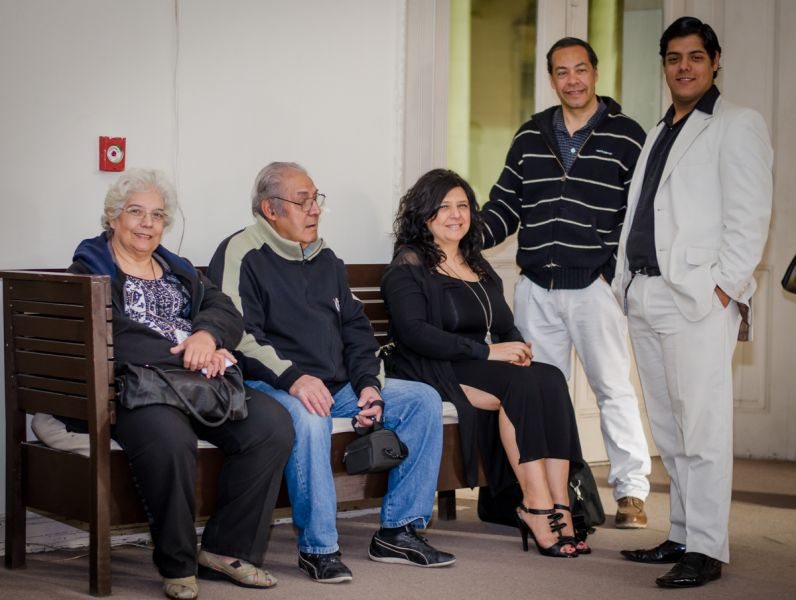Nora Inardi, Estanislao Vallejos, Mónica Matteo, José Luis Rotolo, Facundo Vallejos