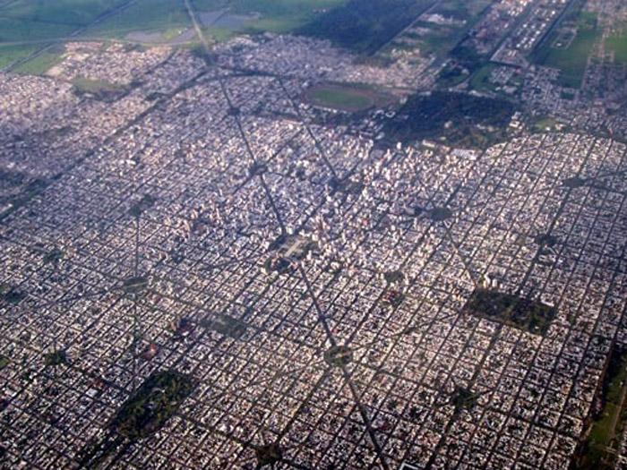 Mapa de la ciudad de la plata
